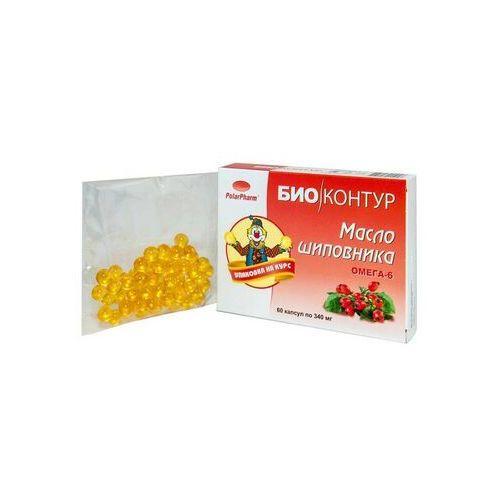 Olej z dzikiej róży w kapsułkach 340 mg 60 szt, KF216