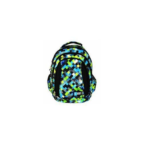 St.-majewski Plecak młodzieżowy pixelmania green bp-04