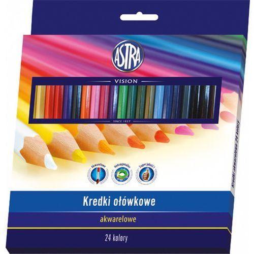 Kredki akwarelowe 24 kolory