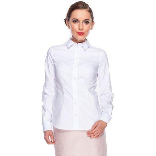 Klasyczna biała koszula - Duet Woman, 1 rozmiar