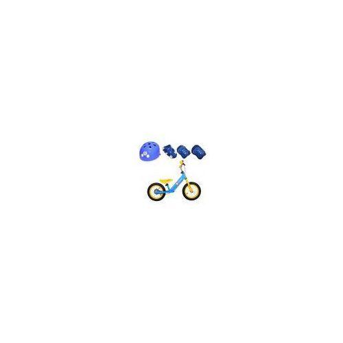 Rowerek biegowy  dex niebieski marki Lionelo