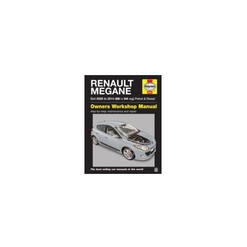 Renault Megane Petrol and Diesel Owner's Workshop Manual (kategoria: Literatura obcojęzyczna)