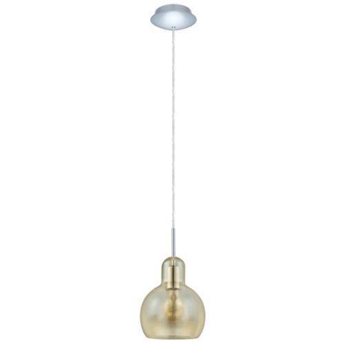 lampa wisząca VINTAGE BRIXHAM bursztyn, EGLO 49267