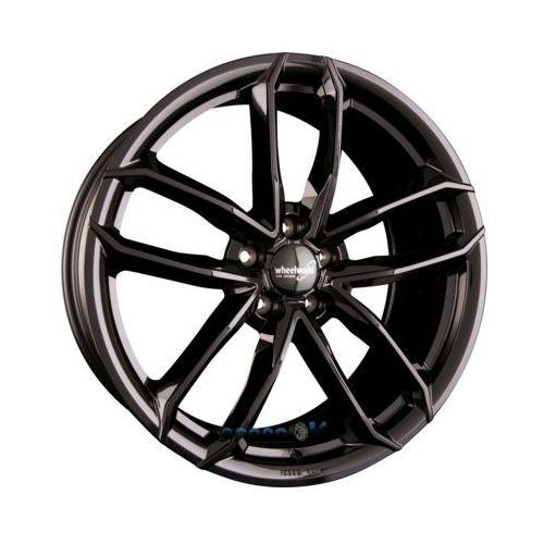 Wheelworld wh33 schwarz glänzend lackiert (sw plus) einteilig 9.00 x 20 et 40