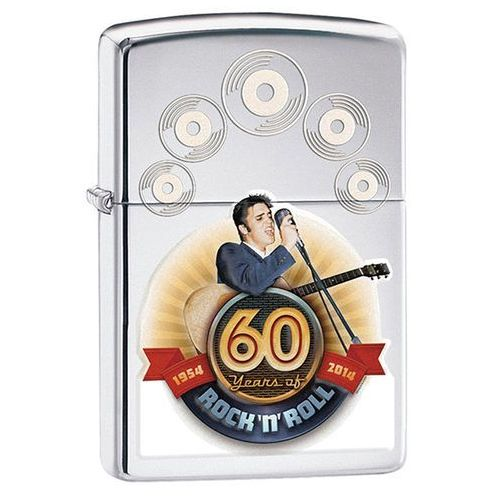 Zapalniczka Zippo Elvis 60th Anniversary, High Polish Chrome