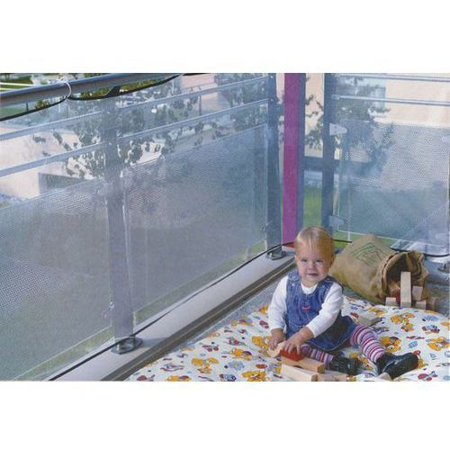 Reer Siatka zabezpieczająca na balkon 71743 kolor biały z kategorii Pozostałe zabezpieczenia