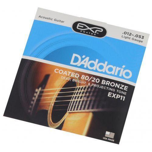 D′Addario EXP 11 struny do gitary akustycznej 12-53, E5DD-589D2