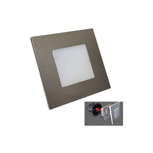 Luxera 48305 - Oprawa schodowa LED STEP LIGHT 16xLED SMD/1W/230V (8585032221507)