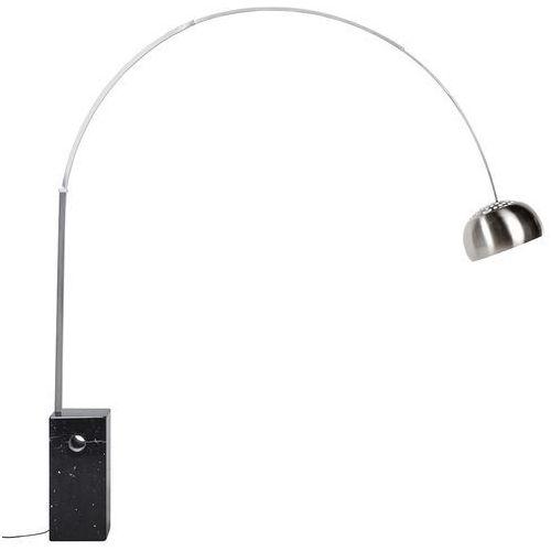 Lampa podłogowa MARMO czarna - stal nierdzewna, marmur (5900168816336)