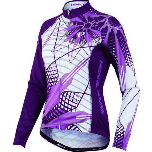 Pearl izumi thermal elite ltd - damska koszulka rowerowa długi rękaw (fioletowy)