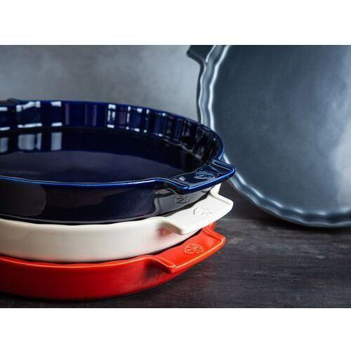 Peugeot Forma do tarty ceramiczna, emaliowana 28 cm appolia ciemnoszara (pg-60404)