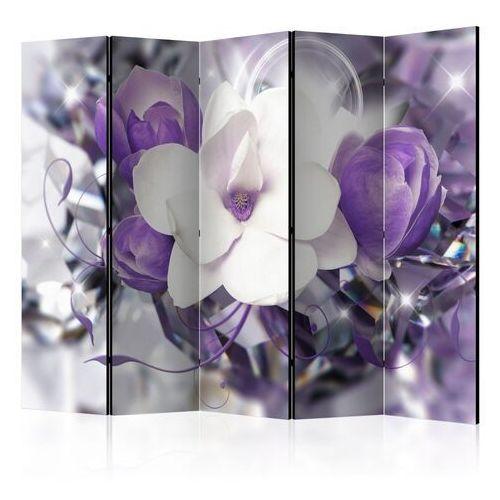 Artgeist Parawan 5-częściowy - fioletowa cesarzowa ii [room dividers]