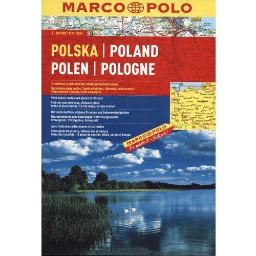 Polska Atlas drogowy 1: 300 000, rok wydania (2009)