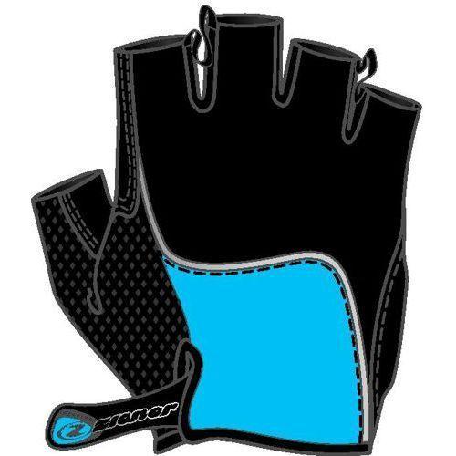 Rękawiczki rowerowe Ziener Chan - niebieskie (4052927209093)