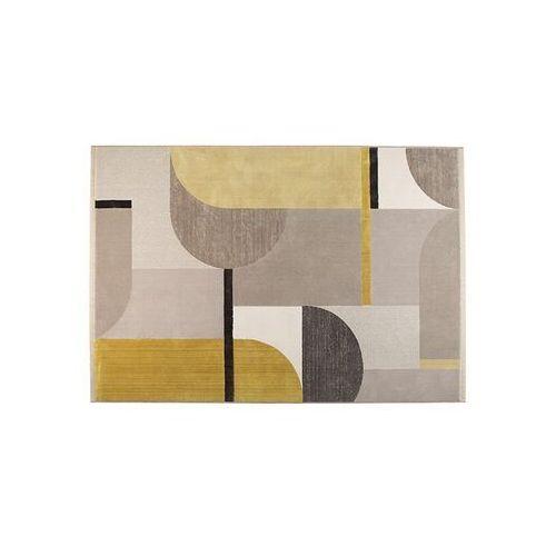Zuiver dywan hilton 200x290 szaro/żółty 6100004