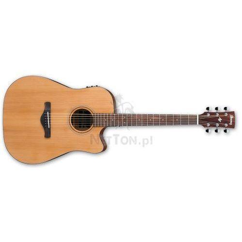 Ibanez Aw65ece-lg natural low gloss - gitara elektroakustyczna