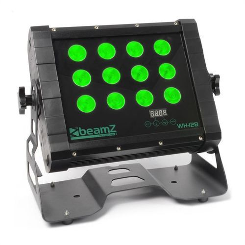 beamZ WH128 Efekt Wall Washer 12 x 8W Diody Quad-LED IP65 DMX