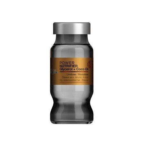 Loreal  nutrifier power monodose (dawniej intense repair) | kuracja nawilżająca do włosów suchych i przesuszonych w ampułkach - 10ml