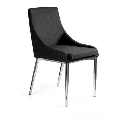Krzesło materiałowe SOLA chrom