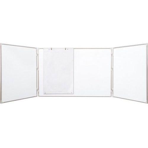 2x3 Tablica rozkładana suchościeralno-magnetyczna lakierowana 150x100/300cm