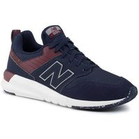 New balance Sneakersy - ms009or1 granatowy