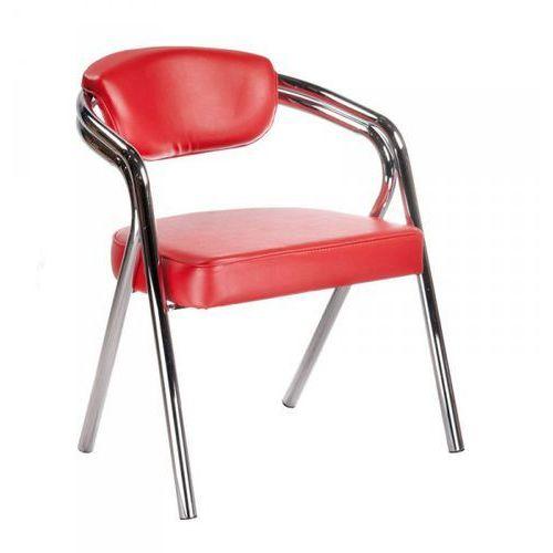 Krzesło Do Poczekalni BR-4511 Czerwone - produkt z kategorii- Pozostałe fryzjerstwo i kosmetyka