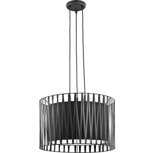 Żyrandol na drutu HARMONY BLACK 3xE27/60W/230V (5901780516550)