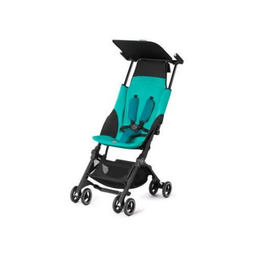 gb GOLD Wózek spacerowy Pockit Plus Capri Blue - turquoise (4251158236490)