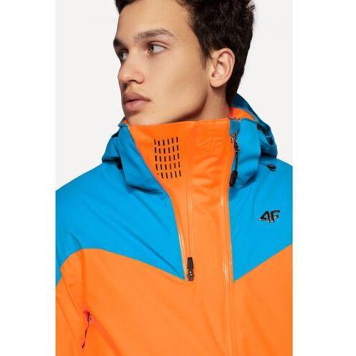 441e1c9c0 Kurtka narciarska HQ Performance KUMN152... Kolor niebieski, pomarańczowy