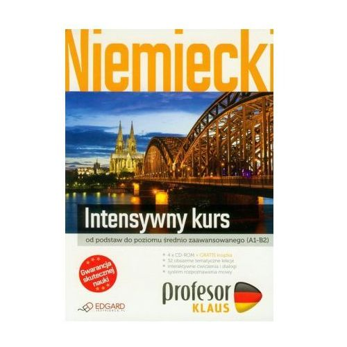 Profesor Klaus: intensywny kurs (4 x CD ROM + książka), książka z kategorii Nauka języka
