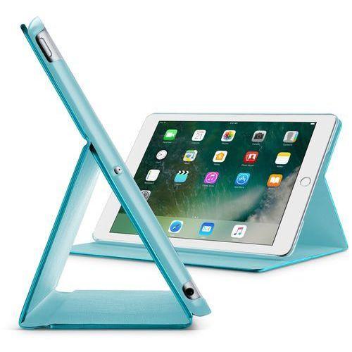 "CellularLine etui ze stojakiem FOLIO Apple iPad 9,7"" (2018), turkusowe FOLIOIPAD1897G, kolor niebieski"