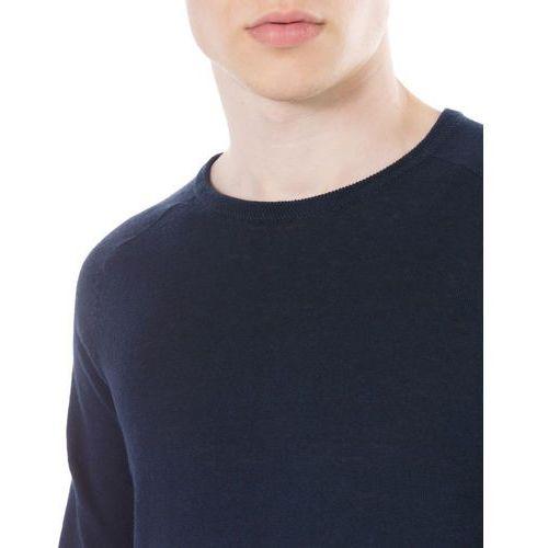 ribe sweater niebieski xl, Jack & jones, S-XXL