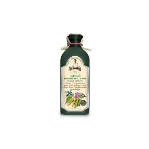 Szampon ziołowy czarny - przeciwłupieżowy 350ml  marki Agafi