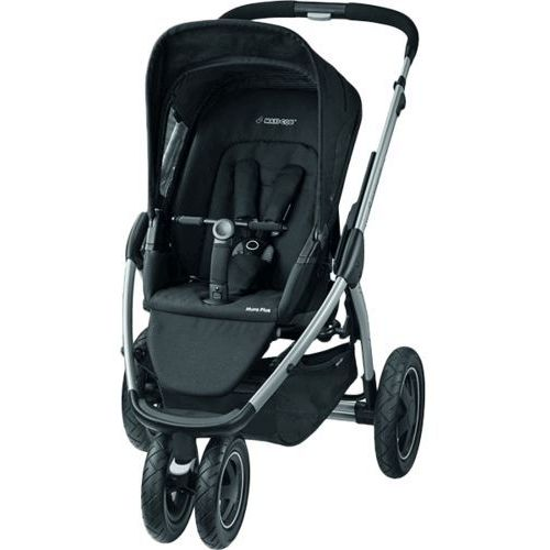 MAXI-COSI Mura 3 Plus Wózek spacerowy – Black Raven z kategorii Wózki spacerowe