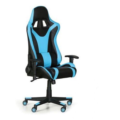 Fotel dla graczy, niebieski marki B2b partner