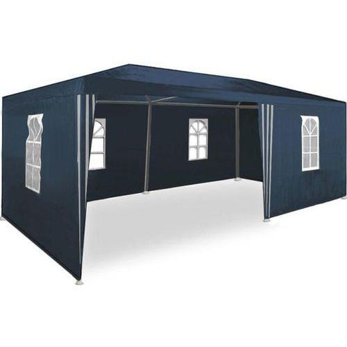 Makstor.pl Pawilon ogrodowy 3x6 + 6 ścian namiot handlowy - niebieski