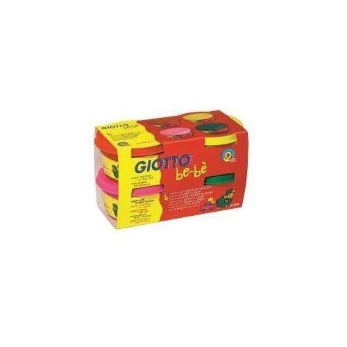Giotto Bebe ciastolina 4x100gr zestaw 3 (8000825464928)