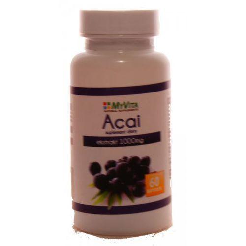 MYVITA Acai ekstrakt 1000mg 60 kaps. - produkt z kategorii- Pozostałe zdrowie