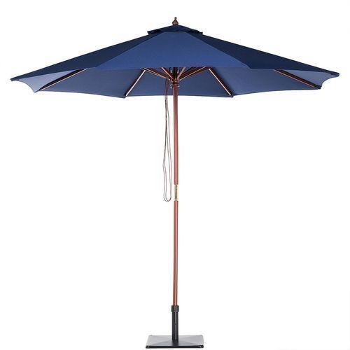 Parasol ogrodowy Ø270 ciemnoniebieski TOSCANA II