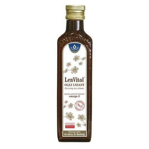 Lenvitol olej lniany tłoczony na zimno 250ml - data ważności 07-08-2020