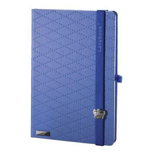 Notes A5 Lanybook Glamorous Beauty Matra w kratkę niebieski (8057432194878)