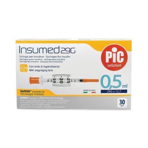 Strzykawki insulinowe INSUMED 0,5ml G29x12,7mm (30szt.)