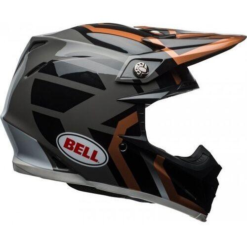 BELL MOTO-9 DISTRICT COPPER/BLACK Kask Off-road