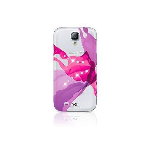 Etui HAMA do Samsung Galaxy S4 White Diamonds Liquds Różowy, kolor różowy