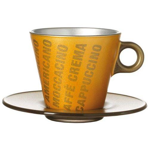 Filiżanka do Cappuccino Ooh Magico Leonardo złoty metalik (063889), 063889