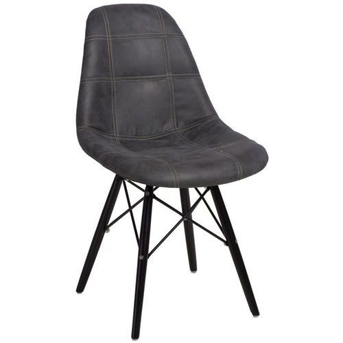 Krzesło P016W Pico inspirowane DSW black - grafitowy (5902385724869)
