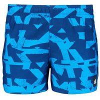 adidas Performance GRAPHIC Szorty kąpielowe mysblu/briblu, kolor niebieski