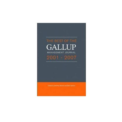 Best of the Gallup Management Journal 2001- 2007