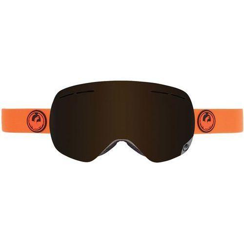 gogle snowboardowe DRAGON - X1s - Safety / Dark Smoke + Yellow Blue Ion & Rose (712)
