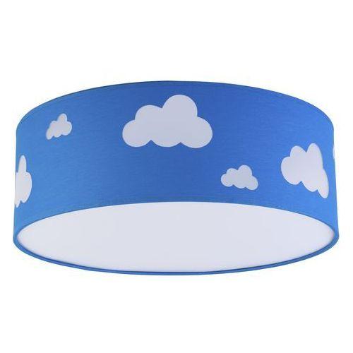 Tklighting Plafon oprawa sufitowa tk lighting sky 4x15w e27 led niebieski/biały 2423 (5901780524234)